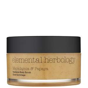 Elemental Herbology Bathing & Treatments Macadamia & Papaya Radiance Body Scrub 200ml