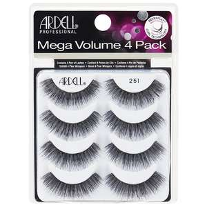 Ardell Multipack Mega Volume 251Pack of 4 Pairs