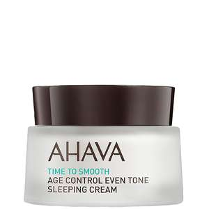 Ahava Age Control Time To Smooth Age Control Even Tone Sleeping Cream 50ml