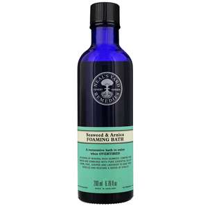 Neal's Yard Remedies Foams, Salts & Oils Seaweed & Arnica Foaming Bath 200ml