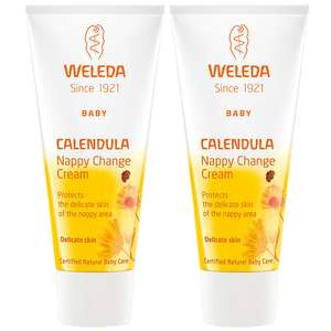 Weleda Mother & Child Calendula Nappy Change Cream 75ml x 2