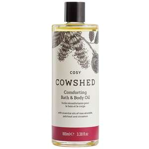 Cowshed Cosy Comforting Bath & Body Oil 100ml