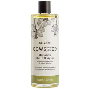 Cowshed Balance Restoring Bath & Body Oil 100ml