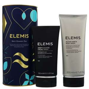 Elemis Christmas 2019 Men's Dynamic Duo (Worth £48.00)