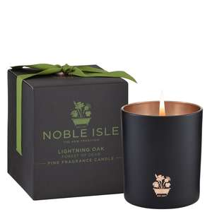 Noble Isle Home Fragrance Lightening Oak Fine Fragrance Candle 200g