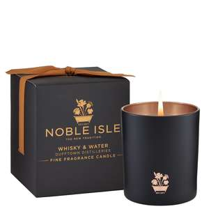 Noble Isle Home Fragrance Whiskey & Water Fine Fragrance Candle 200g