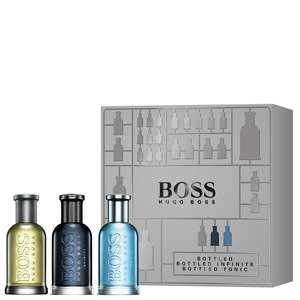 HUGO BOSS BOSS Bottled Eau de Toilette Spray 30ml Trio Gift Set