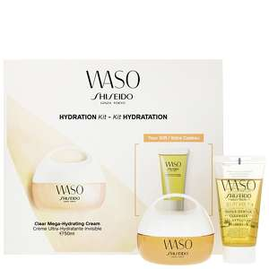 Shiseido Sets Waso: Clear Mega-Hydrating Cream 50ml Gift Set