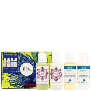 REN Clean Skincare Gifts Mini Body Care Favourites Gift Set