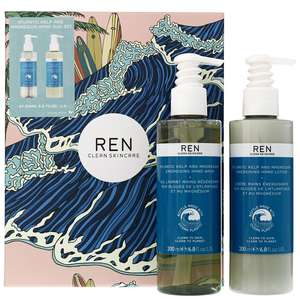 REN Clean Skincare Gifts Atlantic Kelp Hand Care Duo Gift Set