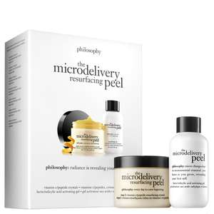 philosophy The Microdelivery 维生素 C 重新浮出水面的剥皮套件