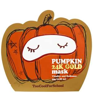 too cool for school Skincare Pumpkin 24K Gold Mask 25g