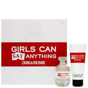 Zadig & Voltaire Girls Can Do Anything Eau de Parfum Spray 50ml Gift Set