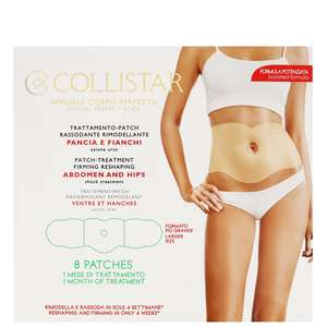 Collistar Body Sculpting & Toning Patch-Treatment Reshaping Abdomen & Hips Shock Treatment 8 Patches