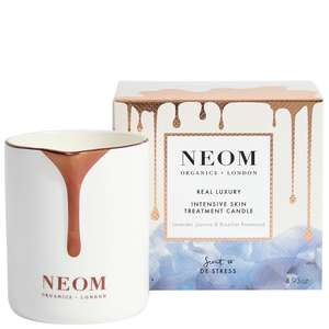 Neom Organics London Scent To De-Stress Real Luxury Intensive Skin Treatment Candle 140g