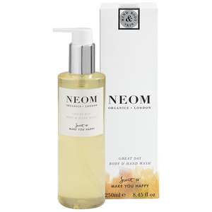 Neom Organics London Scent To Make You Happy Great Day Body & Hand Wash 250ml