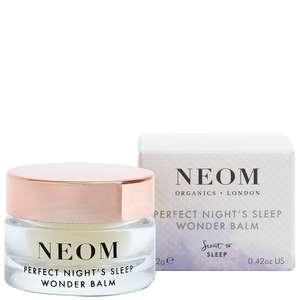 Neom Organics London Scent To Sleep Perfect Night's Sleep Wonder Balm 12g