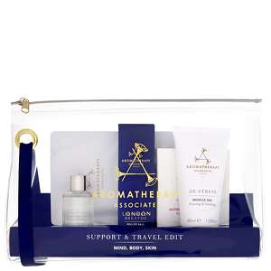 Aromatherapy Associates Gifting Support & Travel Edit: Mind, Body, Skin
