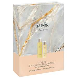 BABOR Cleansing Hy-Öl & Reactivating - Marble Collection
