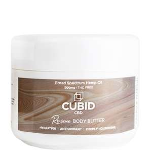 Cubid CBD Skincare Re: scue Body Butter 100毫升