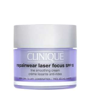 Clinique Eye & Lip Care Repairwear Laser Focus Line Smoothing Cream SPF15 Very Dry to Dry Skin 50ml