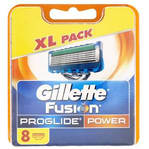 Gillette Fusion Proglide Power Razor Blades Pack of 8