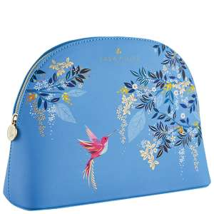 SARA MILLER Accessories Large Cosmetic Bag - Blue