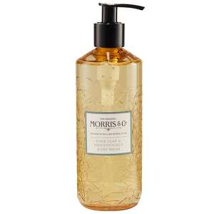 MORRIS & Co Pink Clay & Honeysuckle Body Wash 320ml