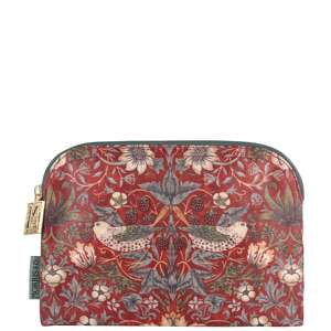 MORRIS & Co Strawberry Thief Small Cosmetic Bag