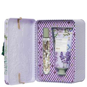 RHS Flower Blooms Lavender Garden Perfume Gel & Hand Cream Set