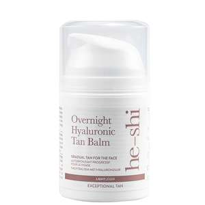 He-Shi Facial Tan Overnight Hyaluronic Tan Balm 50ml