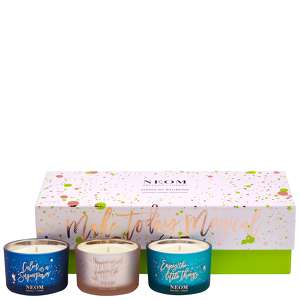 Neom Organics London Christmas 2020 Scent Of Wellbeing Candles 3 x 75g