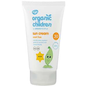 Green People Organic Children Scent Free Sun Lotion SPF30 150ml