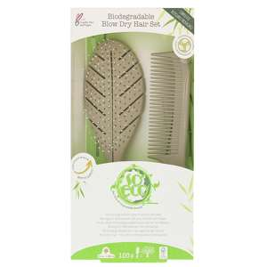 So Eco Set Biodegradable Blow Dry Hair Set