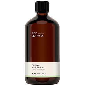 Skin Generics Cleansing Ginseng Revitalizing Toner 7,5% Active Complex 250ml