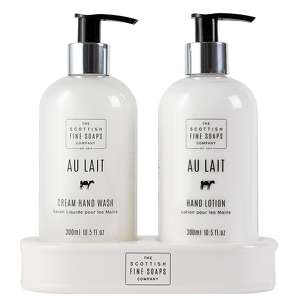 Scottish Fine Soaps Au Lait Hand Care Set