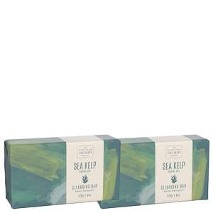 Scottish Fine Soaps Sea Kelp Marine Spa Cleansing Bar 220g x 2