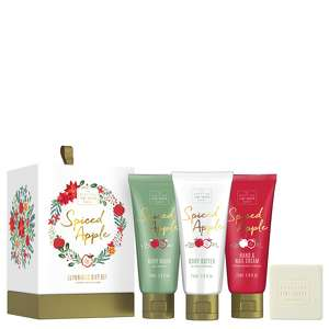 Scottish Fine Soaps Christmas 2020 Spiced Apple Luxurious Gift Set