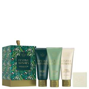 Scottish Fine Soaps Christmas 2020 Festive Wishes Luxurious Gift Set