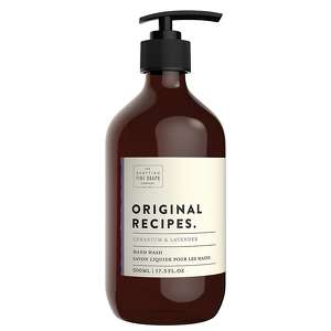 Scottish Fine Soaps Classic Original Recipes Geranium & Lavender Hand Wash 500ml