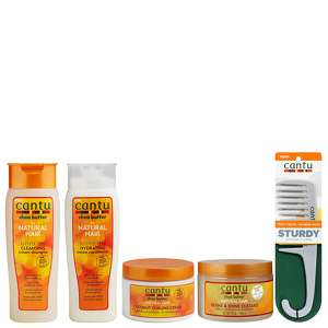 Cantu Gift Sets Shea Butter for Natural Hair 5 Piece Bundle