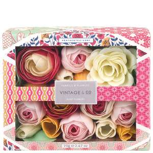 Vintage & Co Fabric & Flowers Soap Flowers 70g