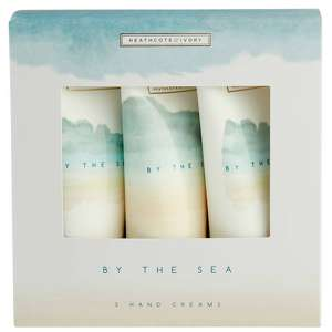 Heathcote & Ivory By The Sea Hand Creams 3 x 50ml