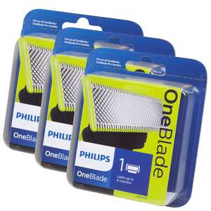 Philips OneBlade Replacement Blade QP210/50 x 3