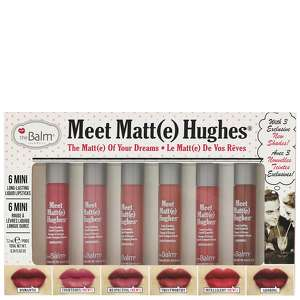 theBalm Cosmetics Lips Meet Matt(e) Hughes: The Matt(e) Of Your Dreams Set