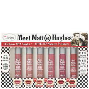 theBalm Cosmetics Lips Meet Matt(e) Hughes: Exclusive Set