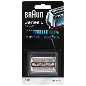 Braun Replacement Heads Series 5 Cassette 52S Silver