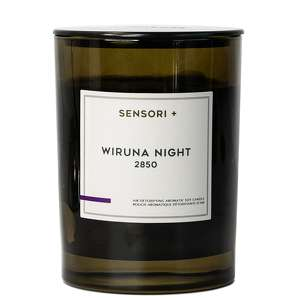 Sensori + Candles & Diffusers Wiruna Night 2850 Air Detoxifying Aromatic Soy Candle 260g