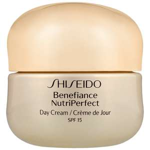 Shiseido Day And Night Creams Benefiance: NutriPerfect Day Cream SPF15 50ml / 1.7 oz.