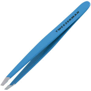 Tweezerman Brows Slant Tweezer Blue Jewel